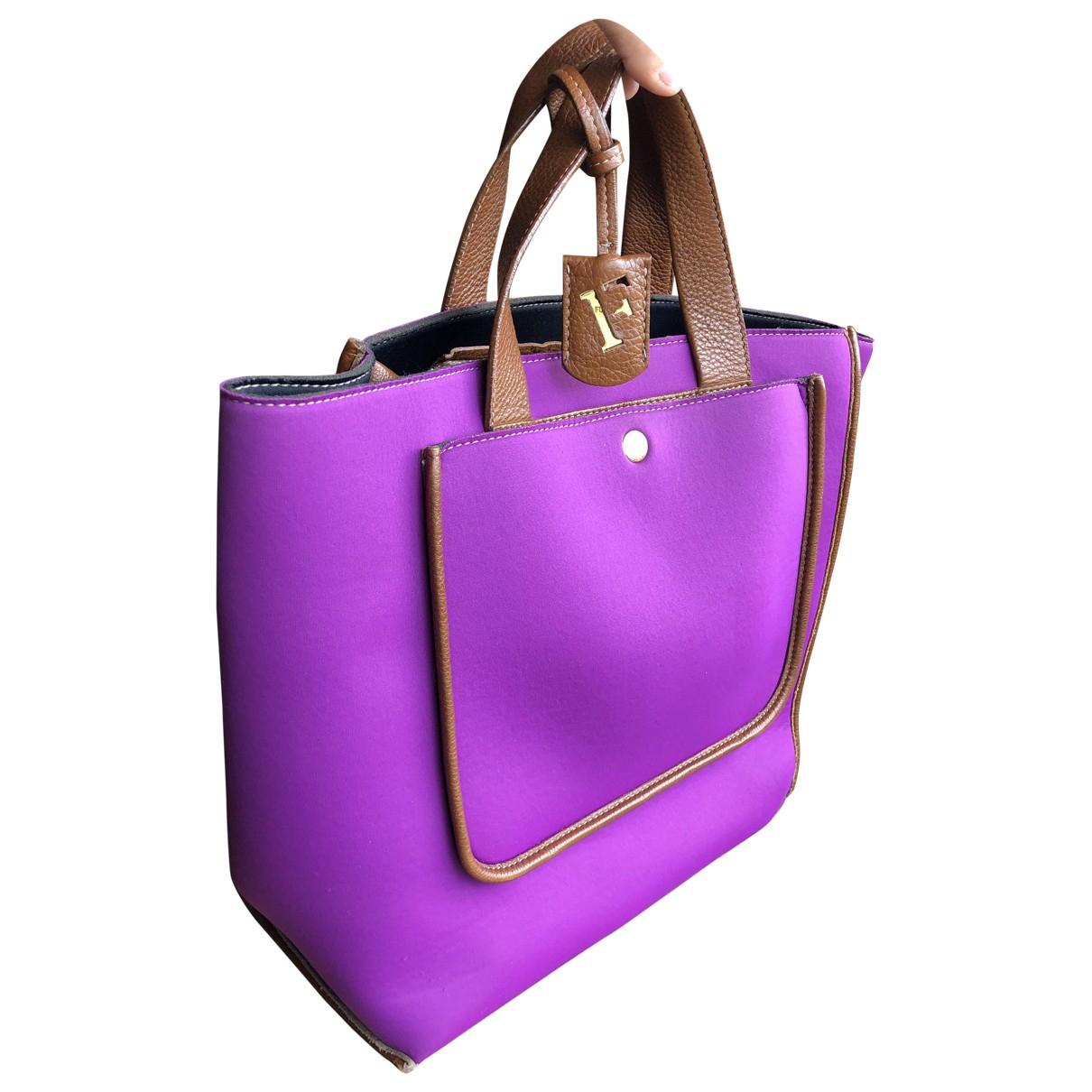 Furla \N Handtasche in  Lila Synthetik