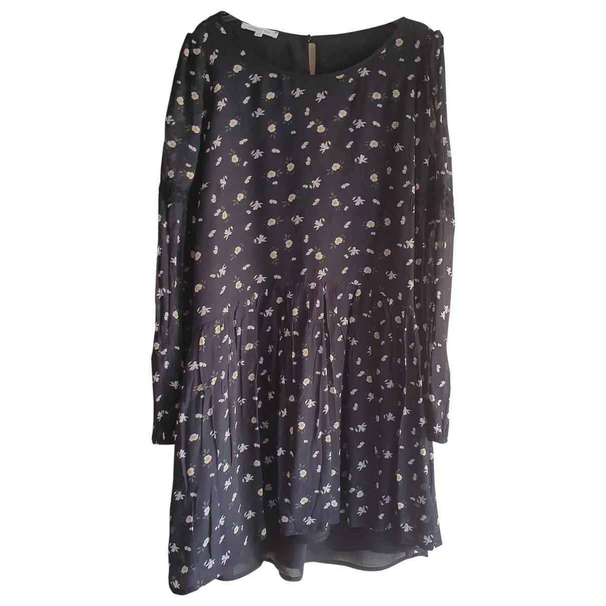 Patrizia Pepe \N Kleid in  Schwarz Polyester