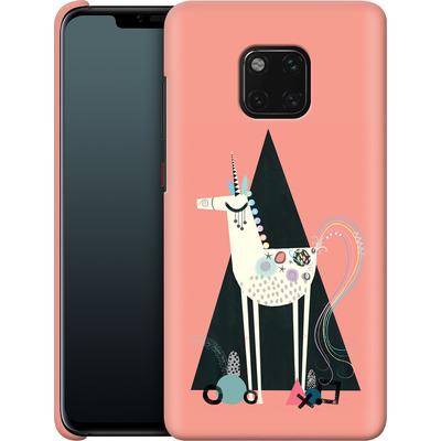 Huawei Mate 20 Pro Smartphone Huelle - Unicorn Triangle von Victoria Topping