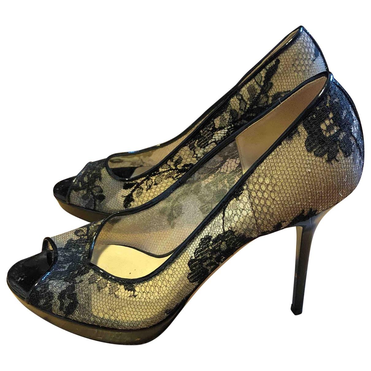 Jimmy Choo \N Black Patent leather Heels for Women 36 EU