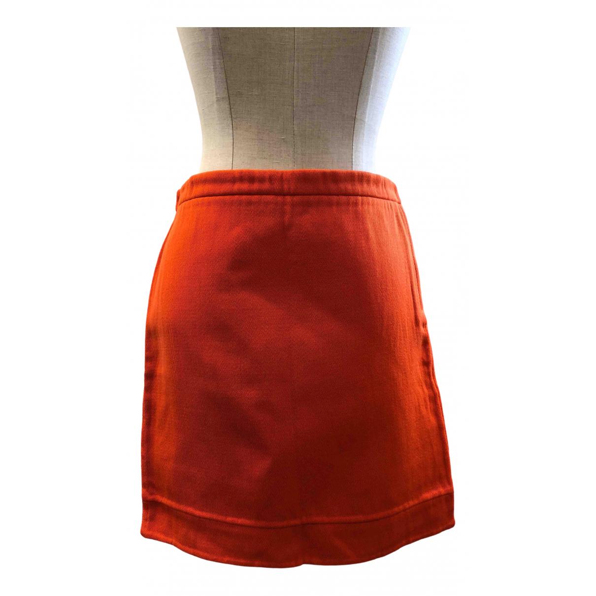 Marc Jacobs - Jupe   pour femme en laine - orange