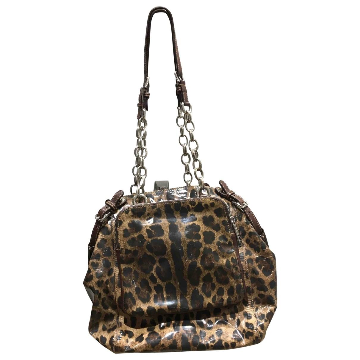 Dolce & Gabbana \N Brown Patent leather handbag for Women \N