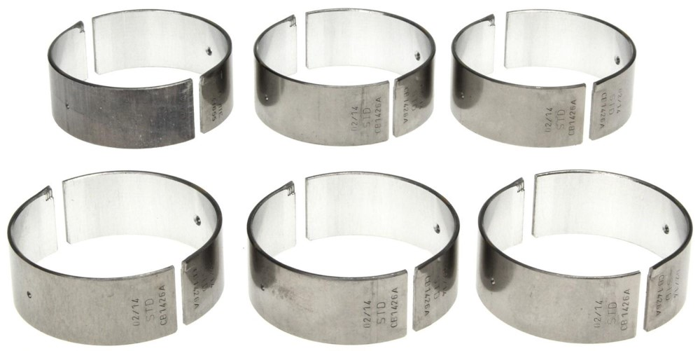 Clevite CB1426A25MM(6) .25mm Rod Bearing Set - 6pc Volkswagen Engines