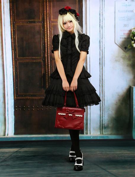 Milanoo Vestido de lolita de algodon
