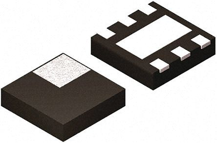 Texas Instruments TPS2552DRVT, 1-Channel Load Switch IC, Power Distribution, 1.5A, 2.5 → 6.5V, 1.33W 6-Pin, SON (5)
