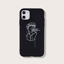 iPhone Schutzhuelle mit Skulptur Muster
