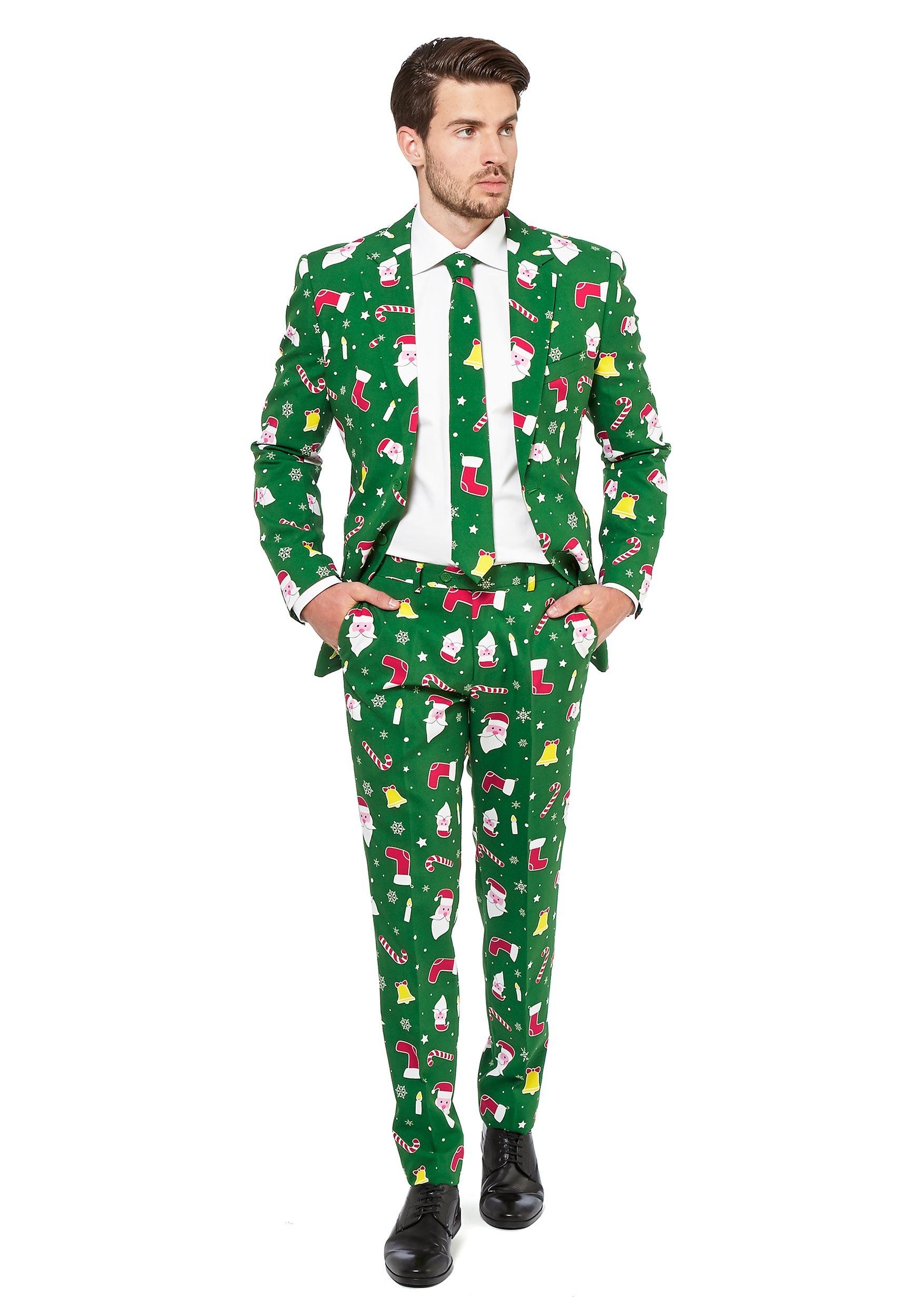 OppoSuits Santaboss Suit for Men