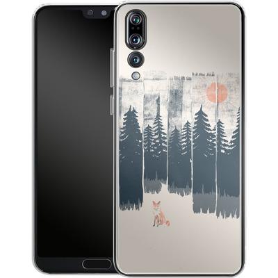 Huawei P20 Pro Silikon Handyhuelle - Fox in the wild von ND Tank