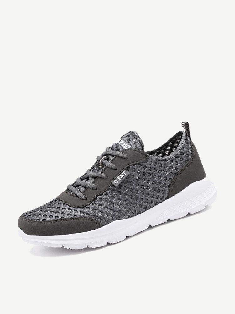 Men Mesh Lightweight Non Slip Casual Running Sneakers