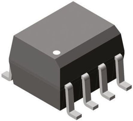 Vishay , IL207AT DC Input Phototransistor Output Optocoupler, Surface Mount, 8-Pin SOIC (10)