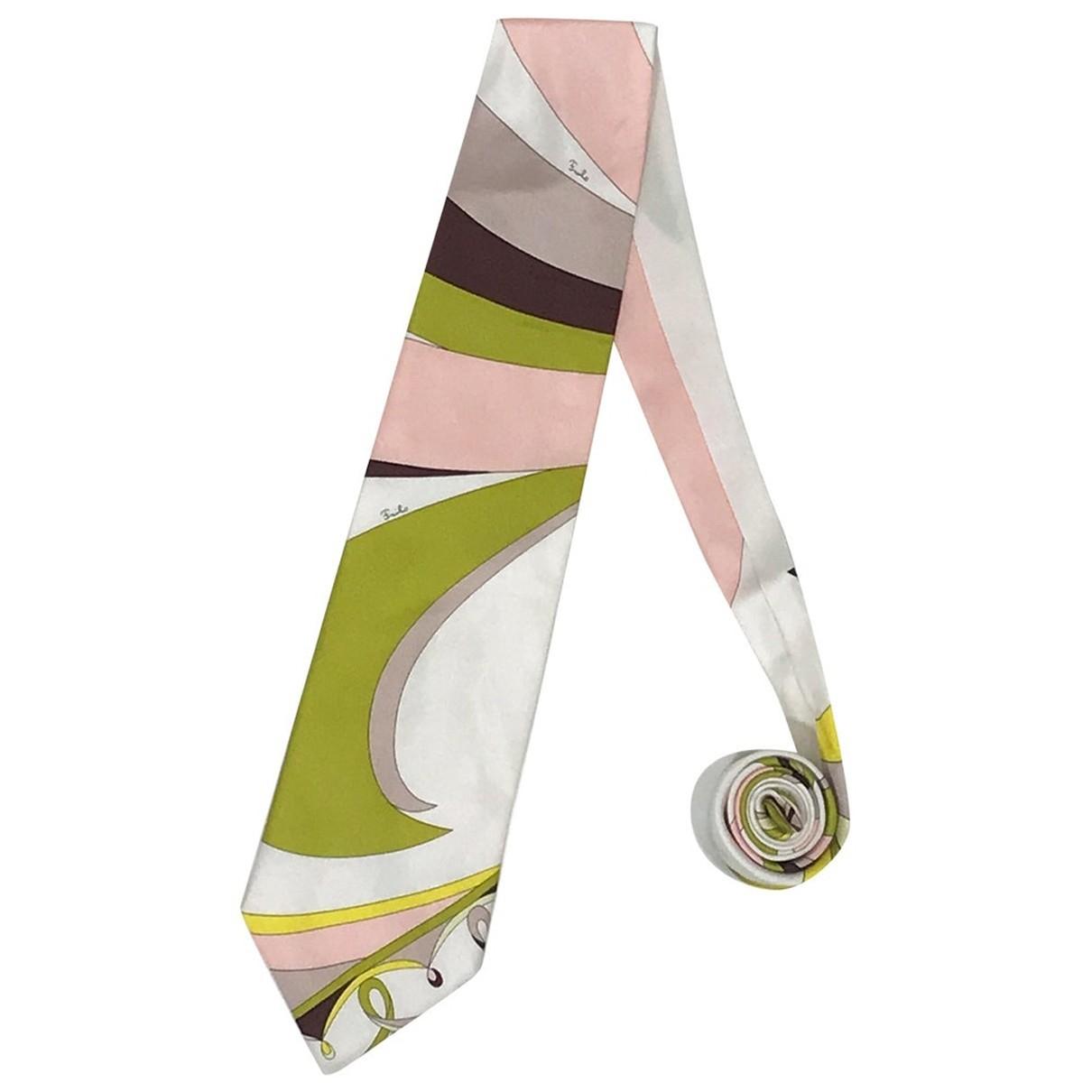 Corbata de Seda Emilio Pucci