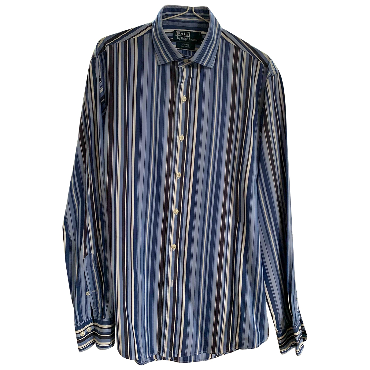 Polo Ralph Lauren \N Blue Cotton Shirts for Men M International
