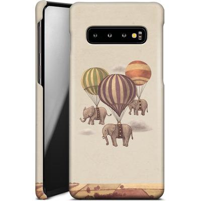Samsung Galaxy S10 Smartphone Huelle - Flight Of The Elephants von Terry Fan