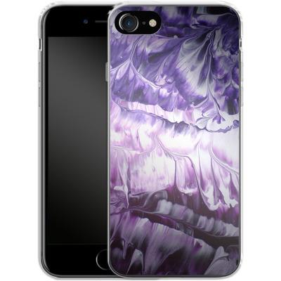Apple iPhone 7 Silikon Handyhuelle - Macro 5 von Gela Behrmann