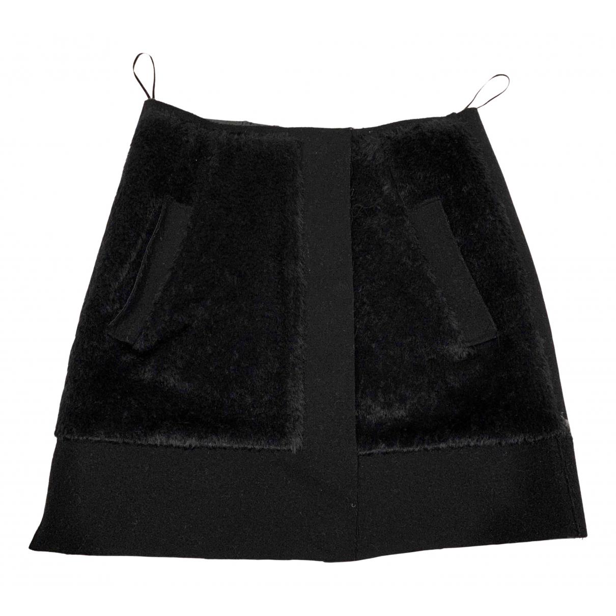 Balenciaga \N Black Wool skirt for Women 38 FR