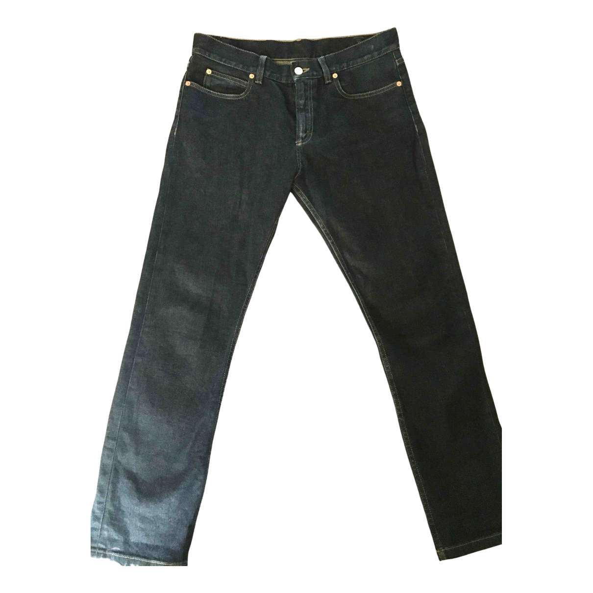 Gucci \N Blue Denim - Jeans Jeans for Women 38 FR