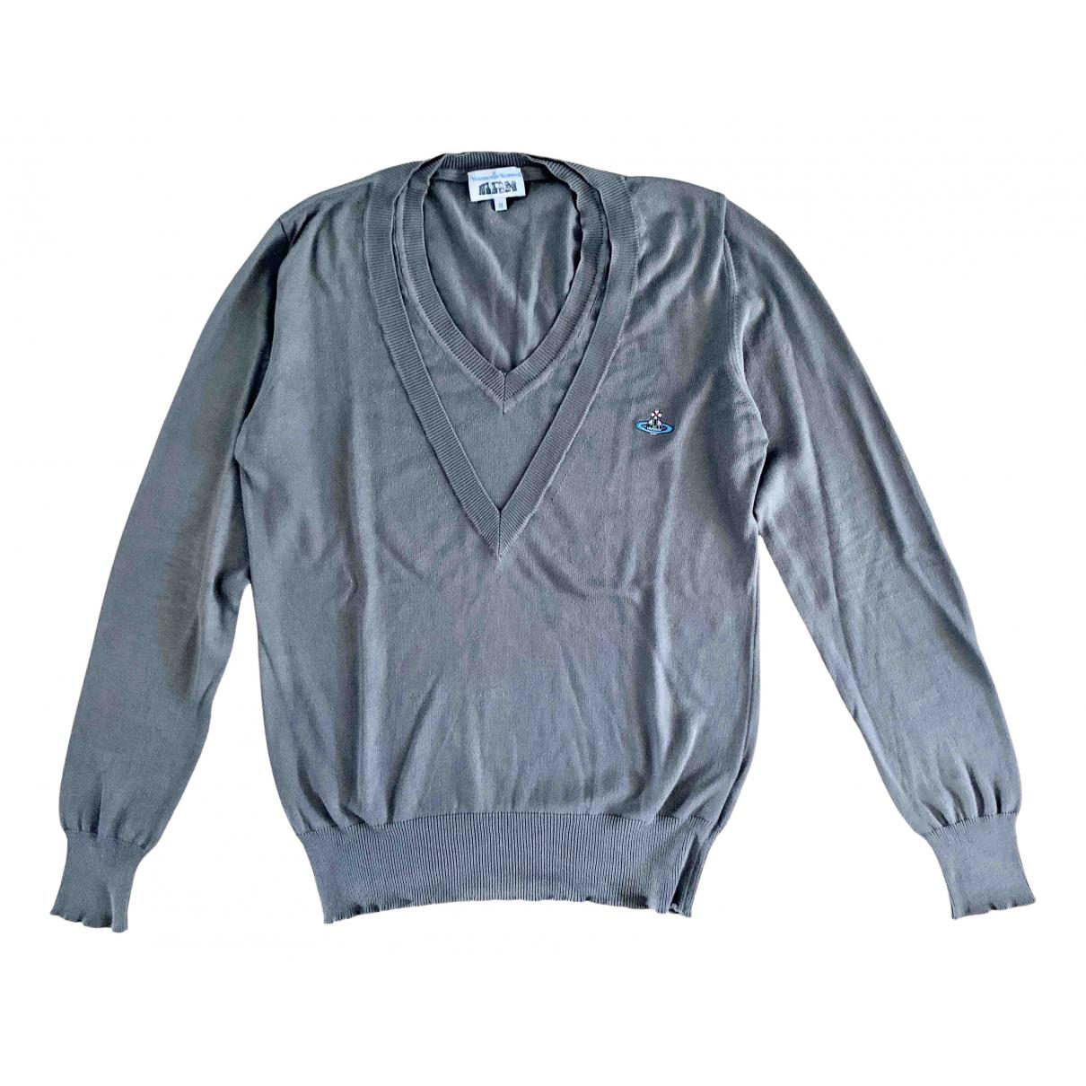 Vivienne Westwood - Pulls.Gilets.Sweats   pour homme en coton - gris