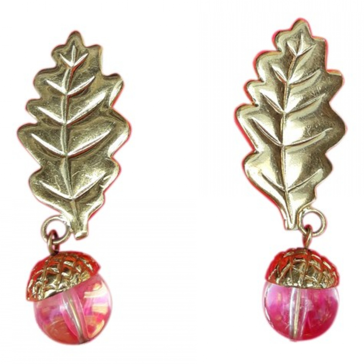 Ines De La Fressange Paris \N OhrRing in  Gold Metall
