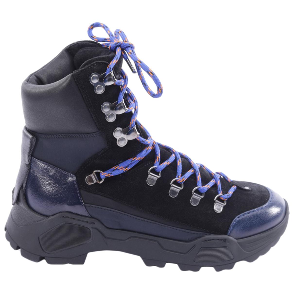 Dorothee Schumacher - Boots   pour femme en cuir - bleu