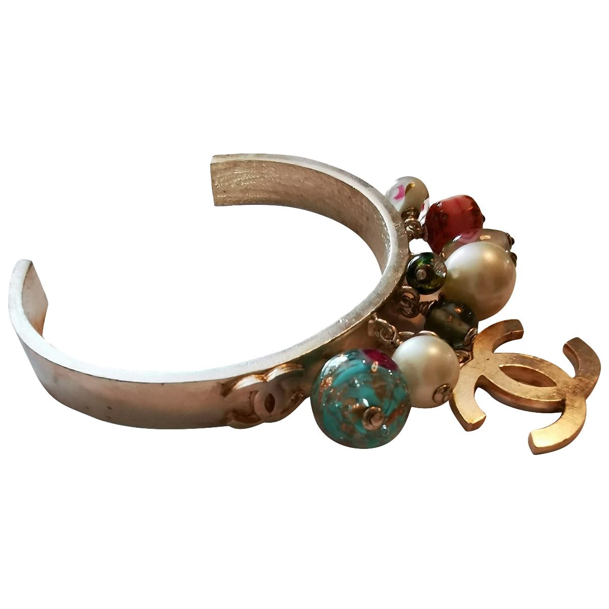 Chanel CC Multicolour Metal bracelet for Women \N