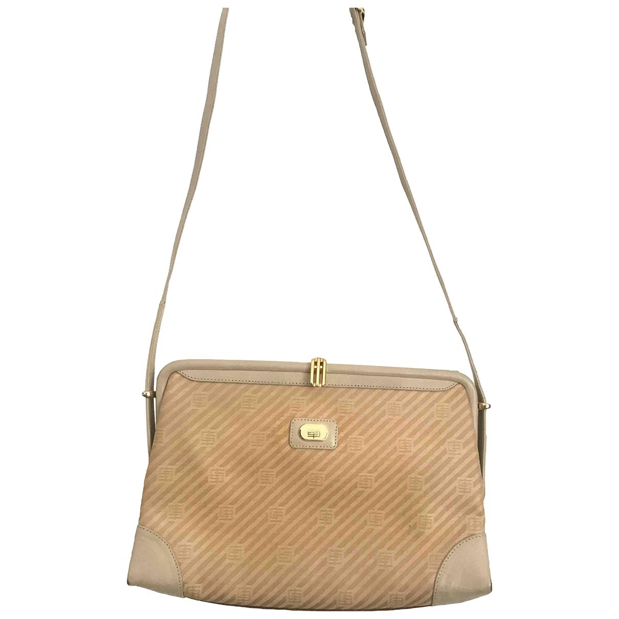 Emilio Pucci \N Beige Leather handbag for Women \N