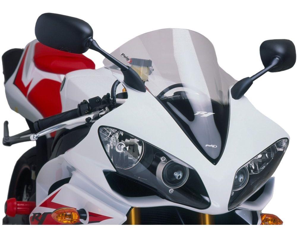 Puig 4365W Racing Windscreen - Clear Yamaha YZF-R1 2007
