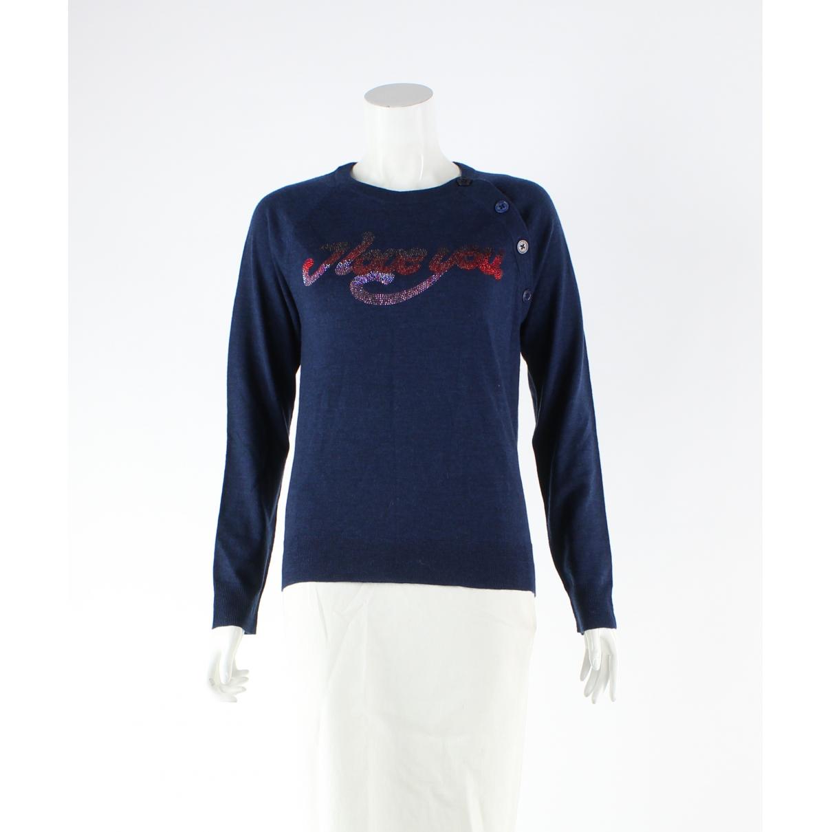 Zadig & Voltaire - Combinaison   pour femme en laine - marine
