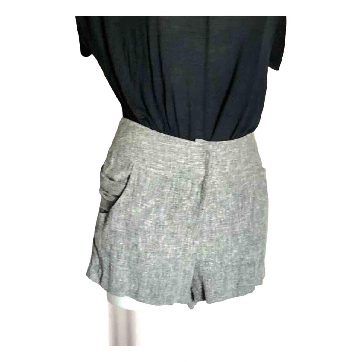 Manoush \N Shorts in  Grau Baumwolle
