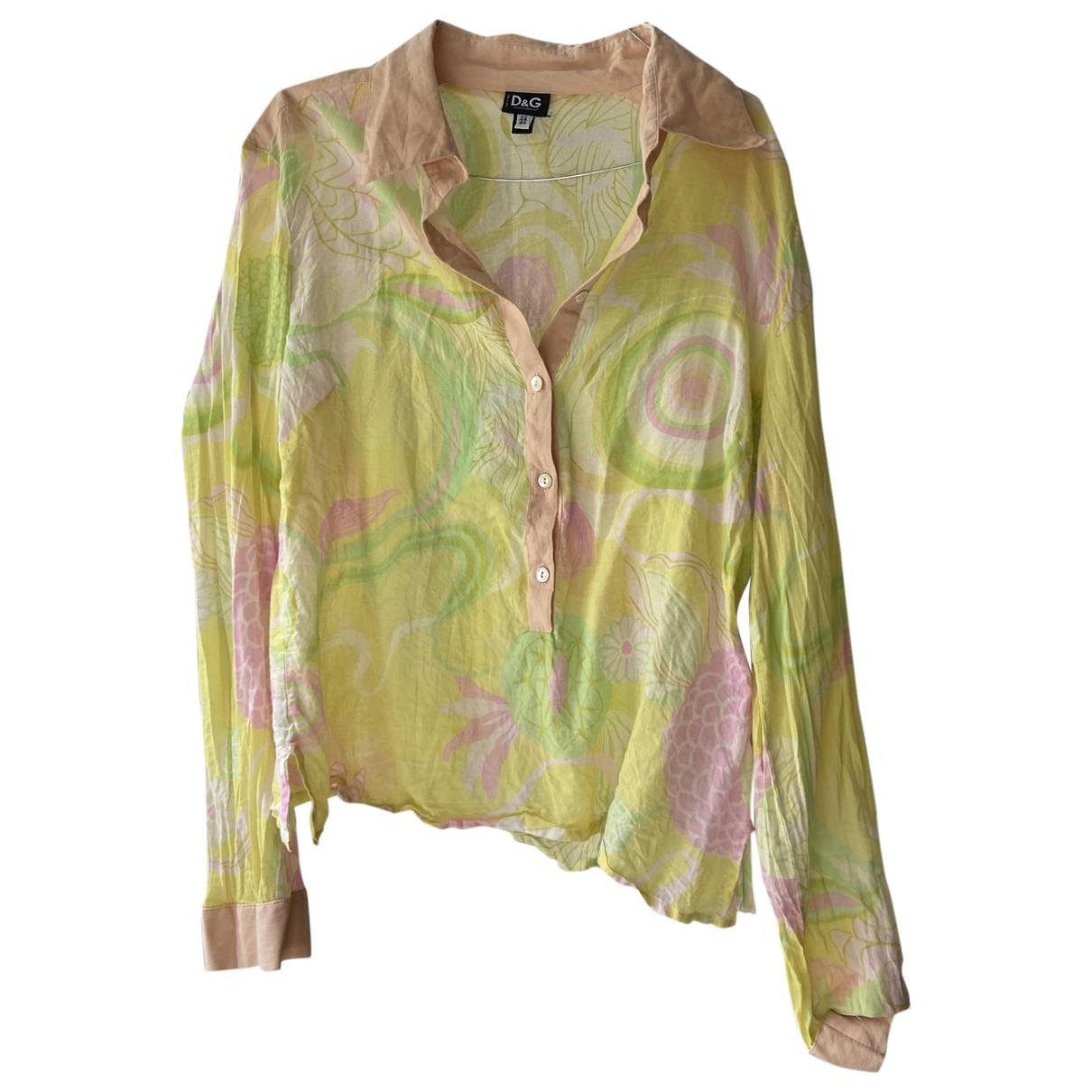 D&g \N Multicolour Cotton  top for Women 46 FR