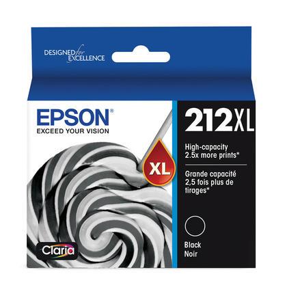 Epson 212XL T212XL120 Original Black Ink Cartridge High Yield