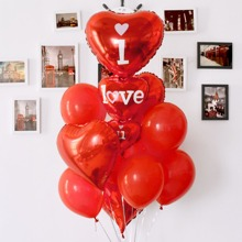 Set de globo de confeti de fiesta decorativo 14 piezas