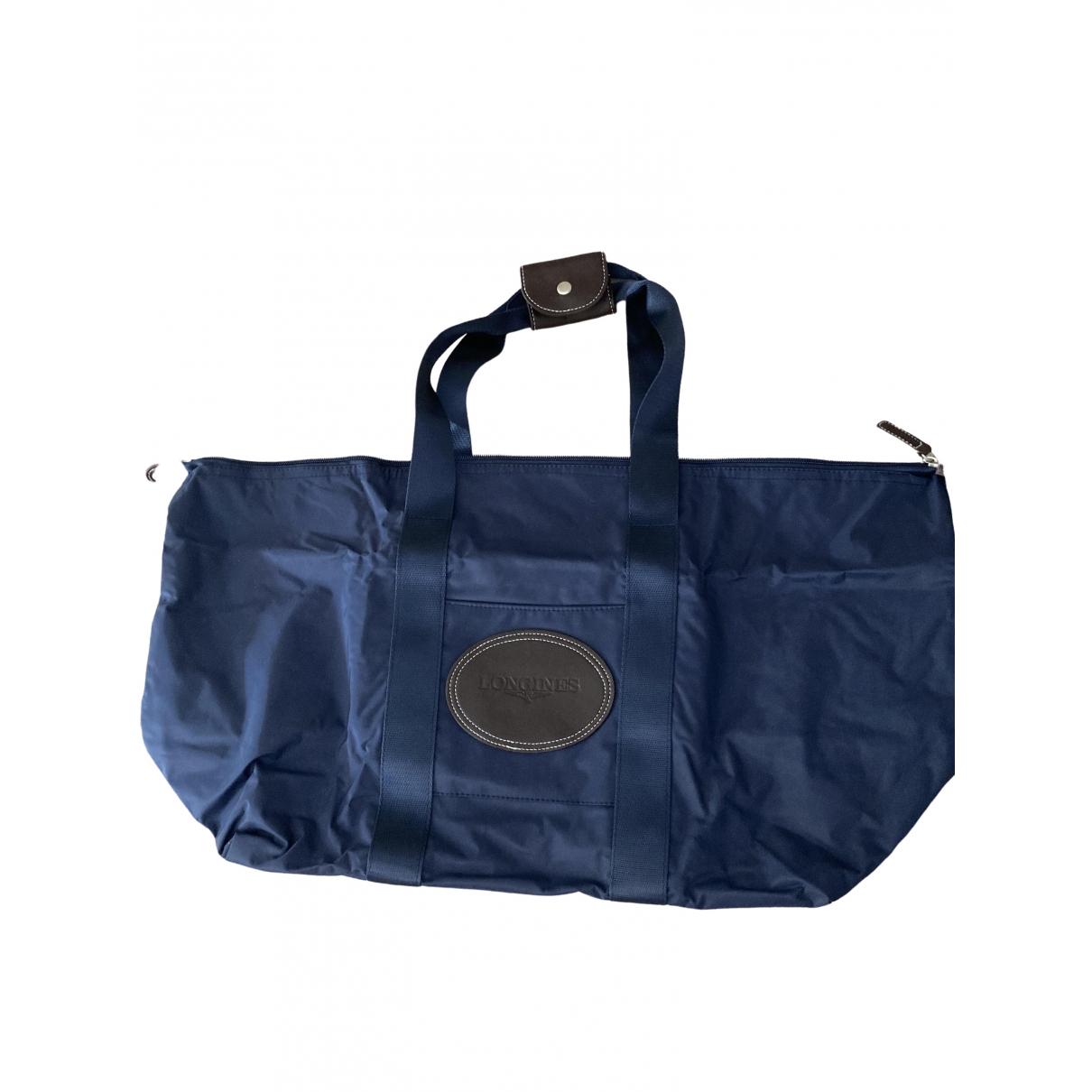 Longines \N Taschen in  Blau Synthetik