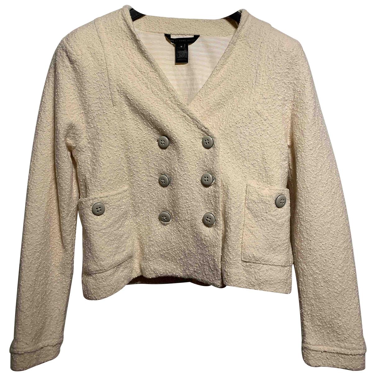 Marc By Marc Jacobs - Veste   pour femme en laine - blanc