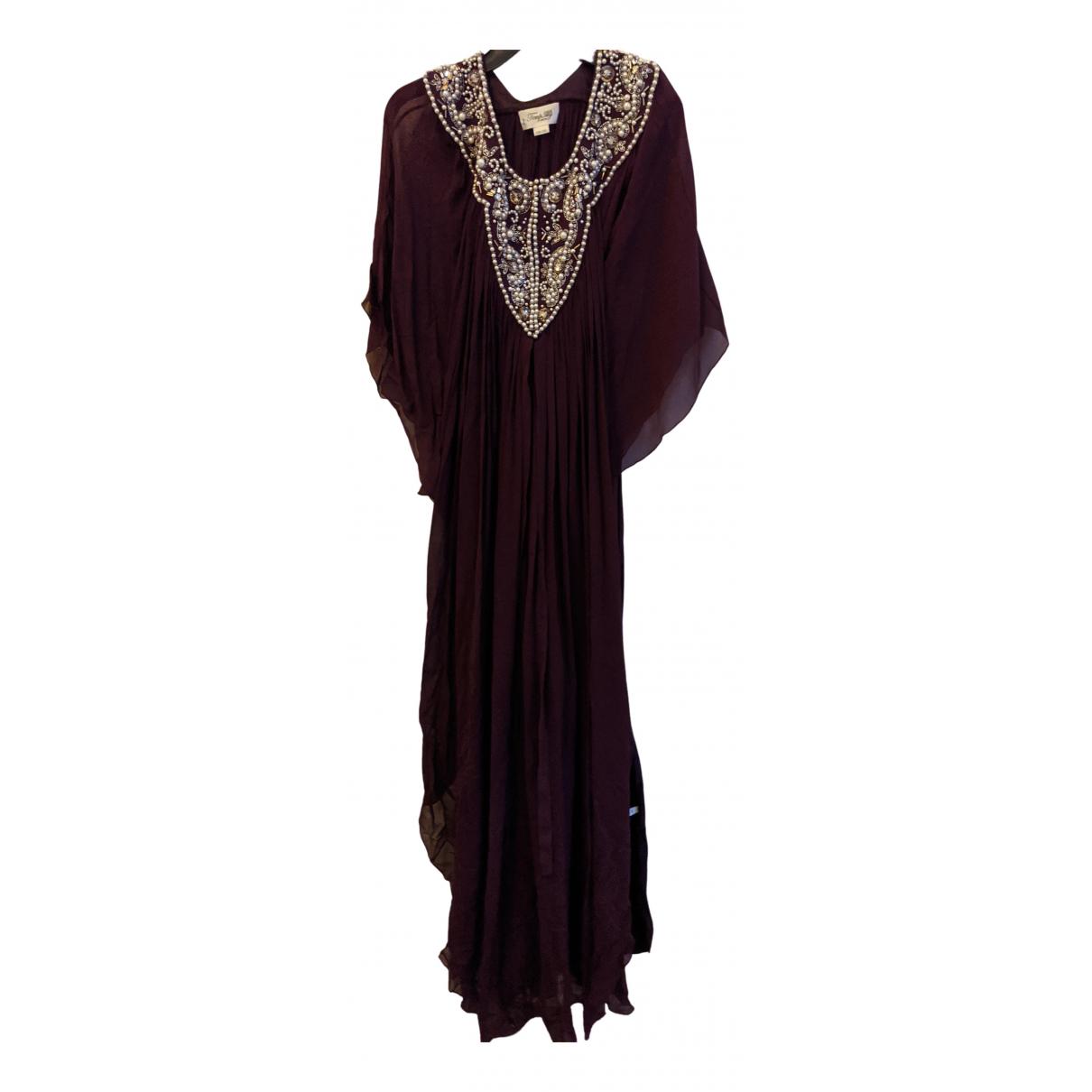 Temperley London \N Kleid in  Lila Seide