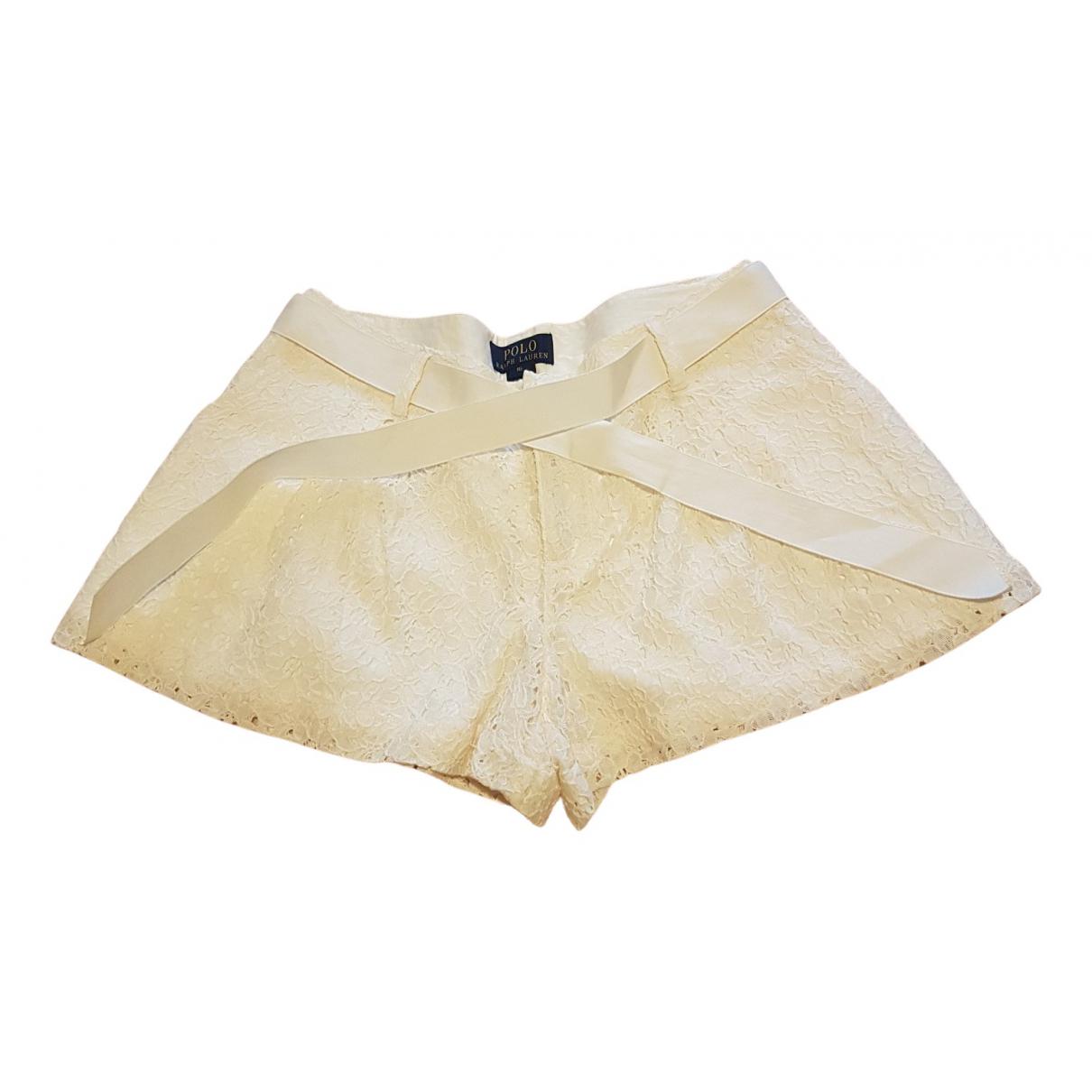 Polo Ralph Lauren - Short   pour enfant en coton - beige