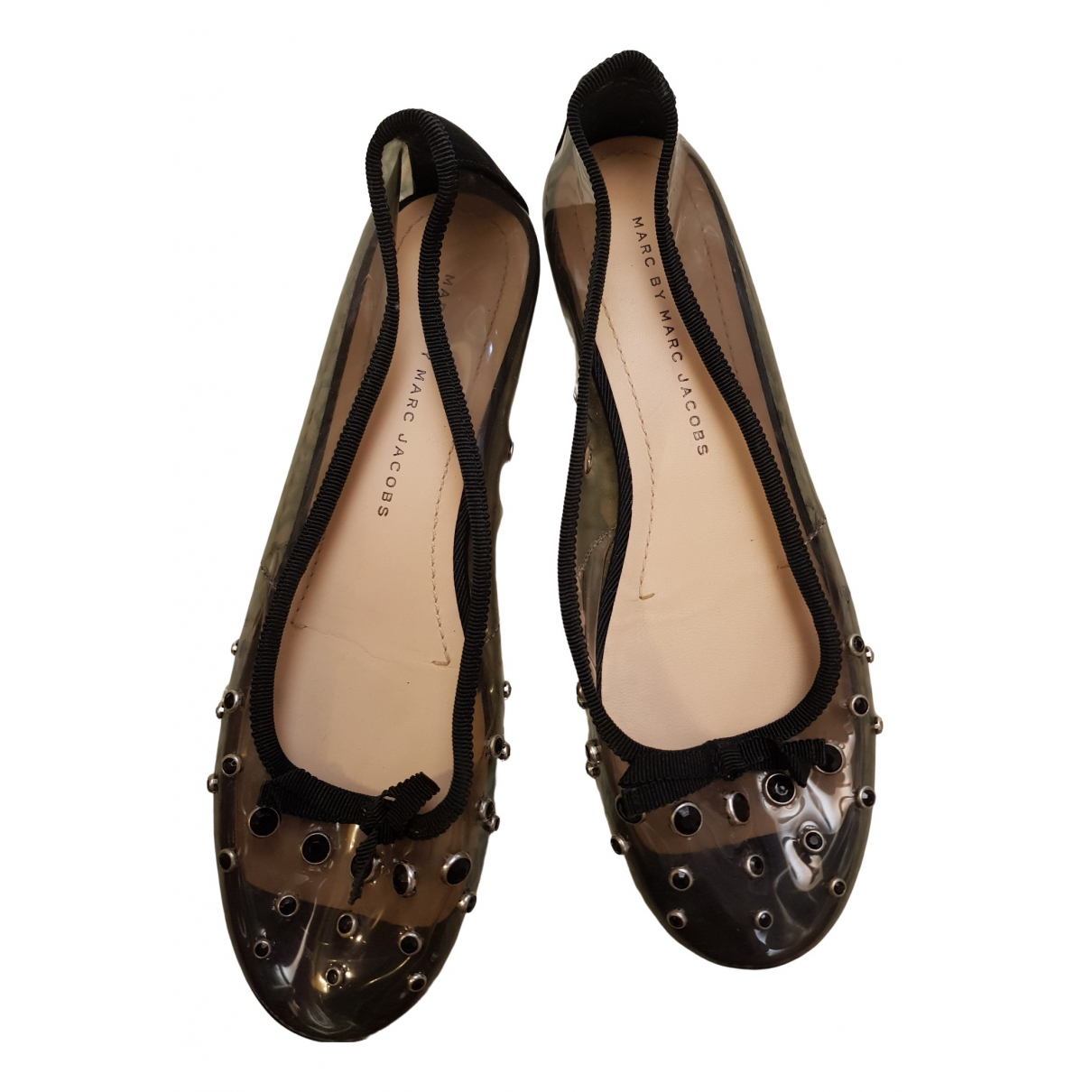 Marc By Marc Jacobs \N Ballerinas in  Schwarz Kunststoff