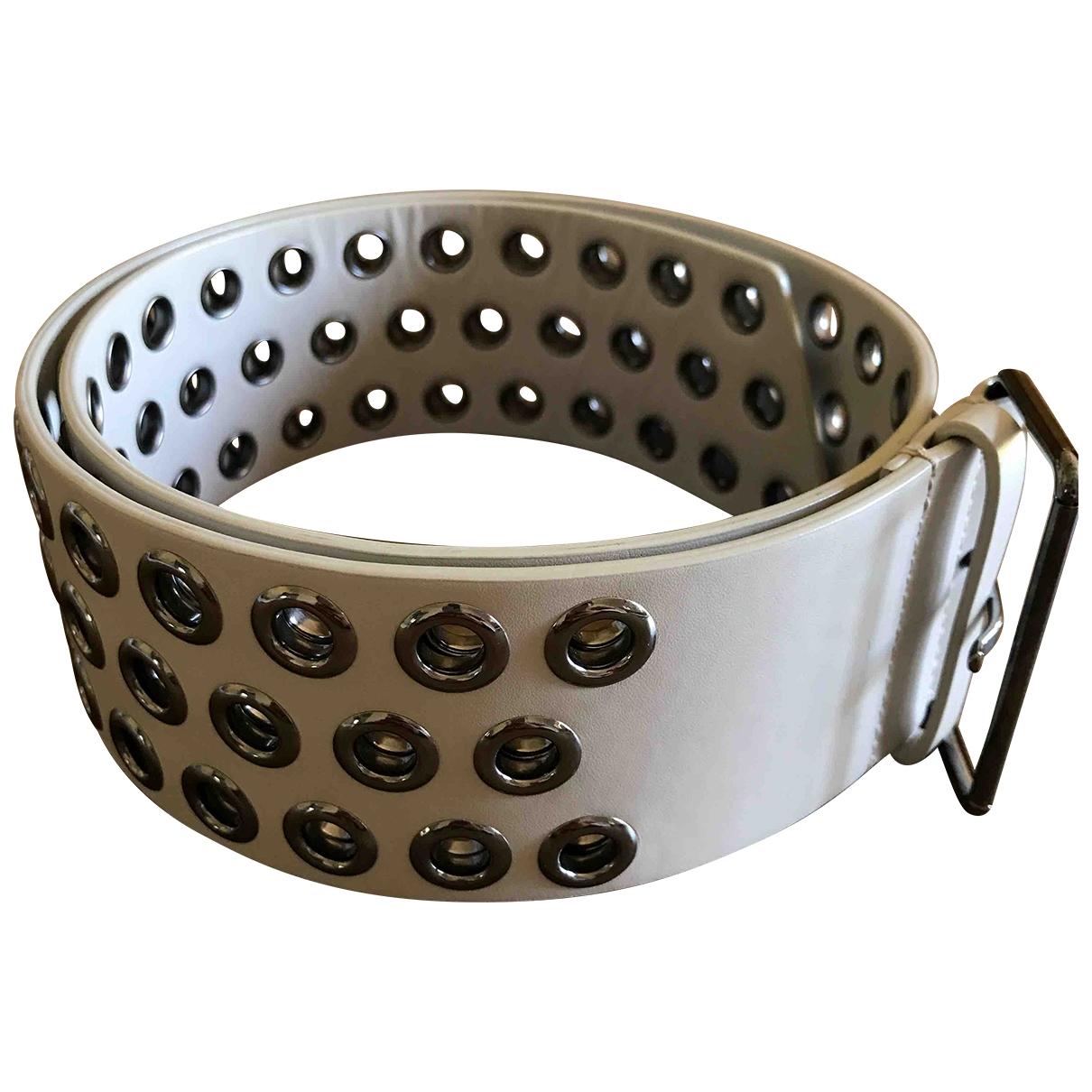Alaïa \N Ecru Leather belt for Women S International