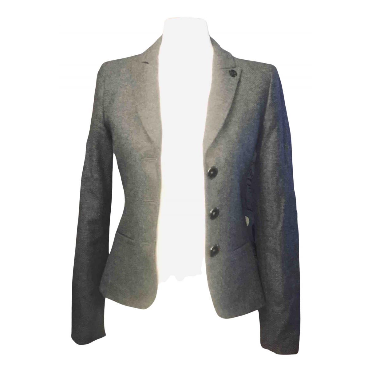 Armani Jean - Veste   pour femme en laine - gris