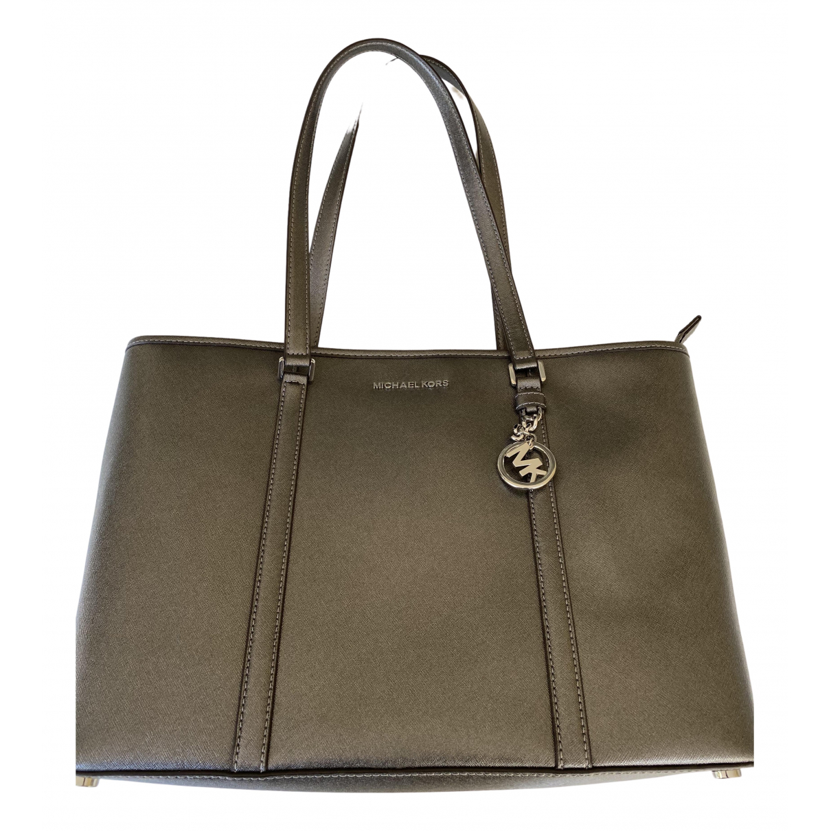 Michael Kors Sady Silver Leather handbag for Women \N