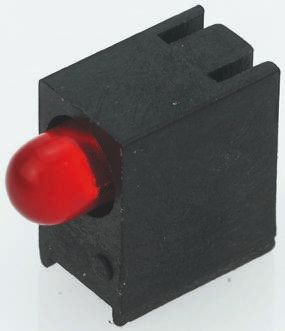 Kingbright L-93A8EWP/1ID/TG-0L, Red Right Angle PCB LED Indicator, Surface Mount 2.5 V (20)
