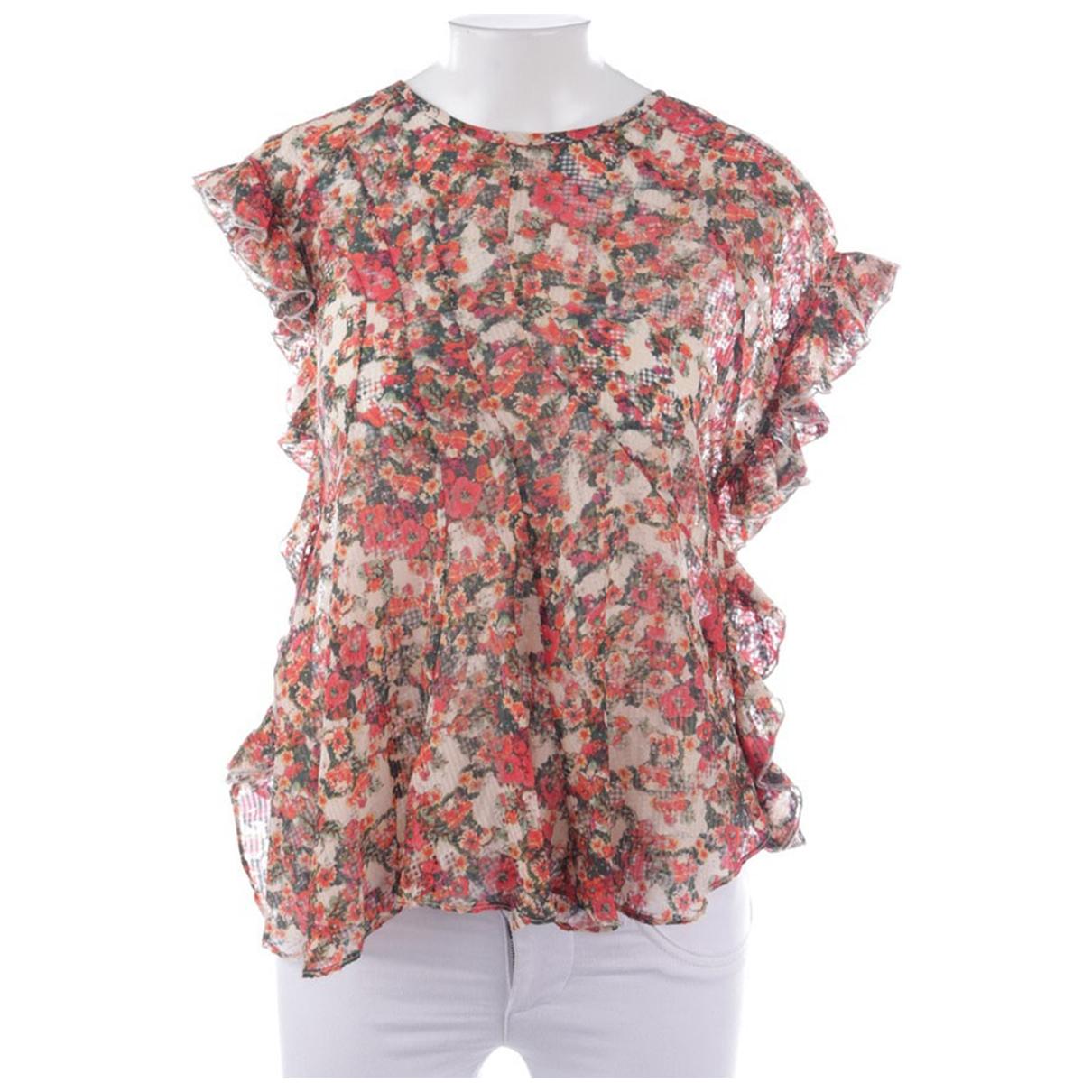 Isabel Marant - Top   pour femme en soie - multicolore