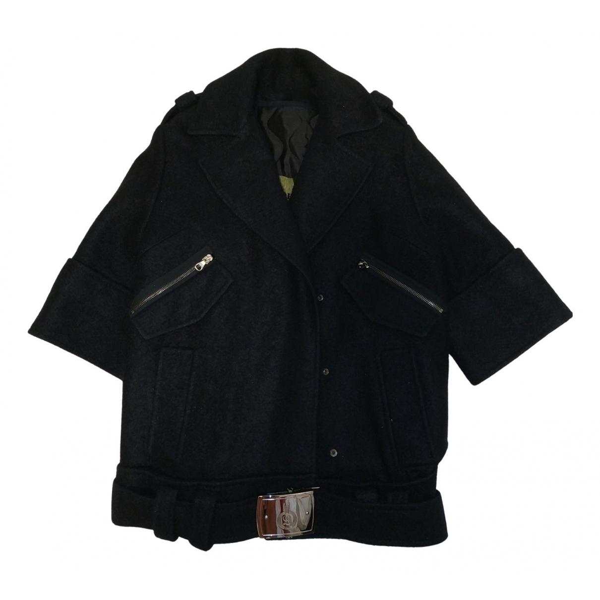 Loewe - Manteau   pour femme en soie - noir