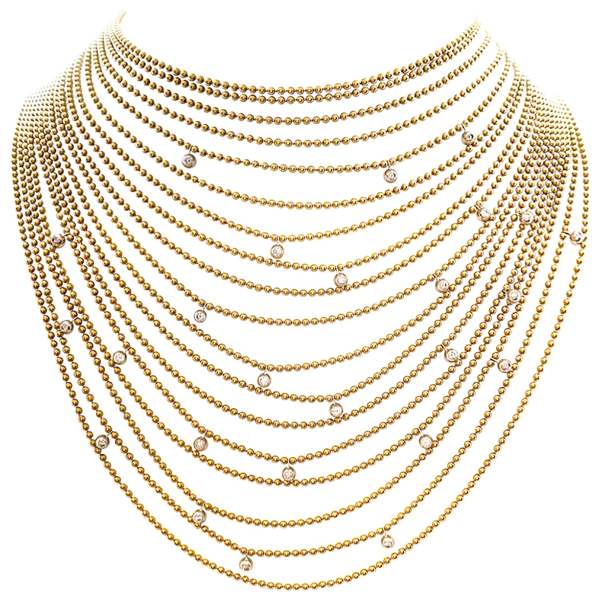 Cartier \N White gold Long necklace for Women \N