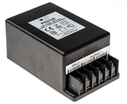 OEP Embedded Linear Power Supply Encapsulated, 207 → 253V ac Input, ±12V dc Output, 400mA, 9.6W