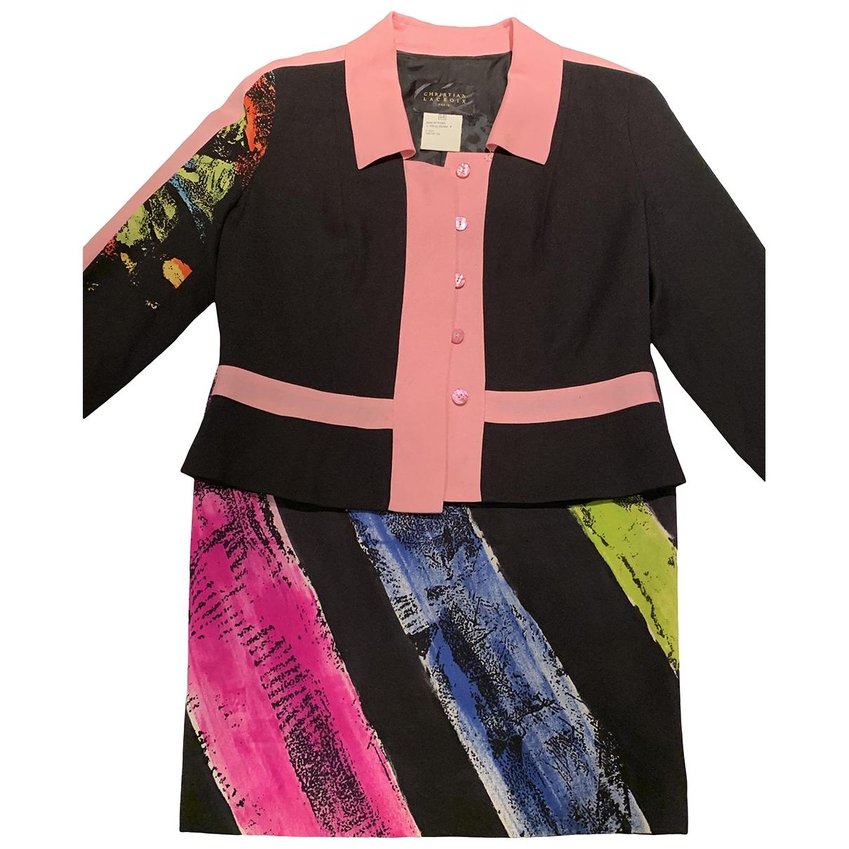 Christian Lacroix - Veste   pour femme en soie - multicolore