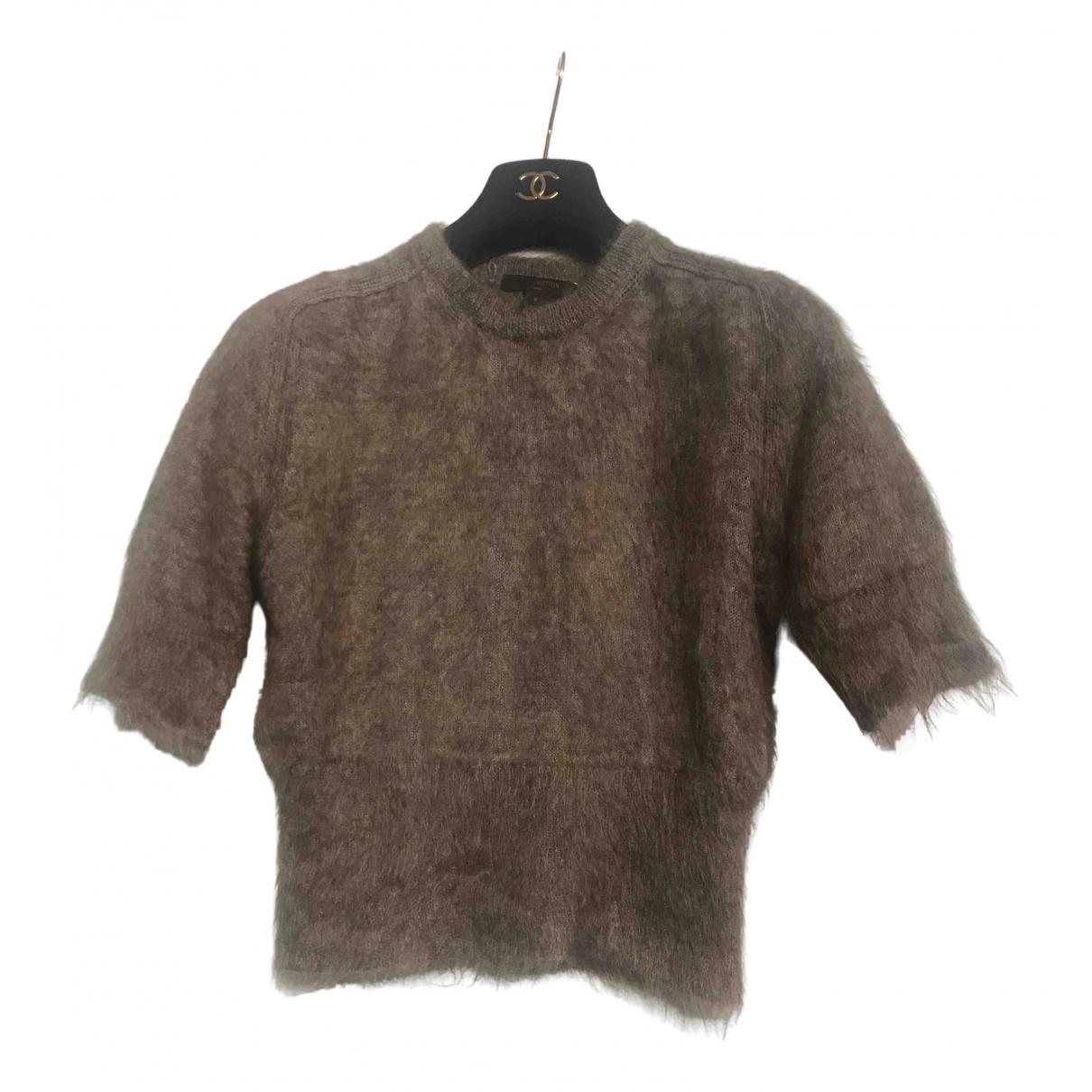 Louis Vuitton \N Beige Wool Knitwear for Women S International