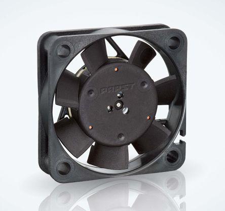 ebm-papst , 24 V dc, DC Axial Fan, 40 x 40 x 10mm, 8m³/h, 0.8W, IP20
