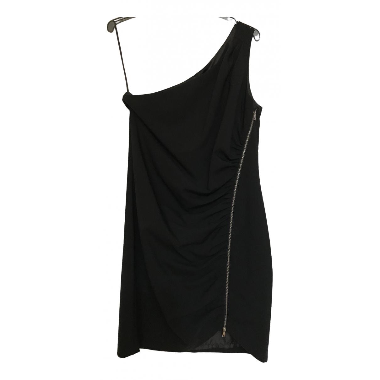 Cynthia Steffe \N Kleid in  Schwarz Wolle