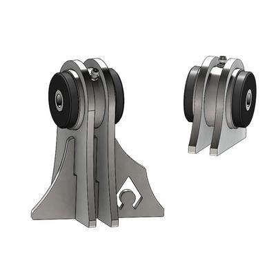Artec Industries TJ Weld on UCA Brackets for Low Pro Front Truss - BR1124