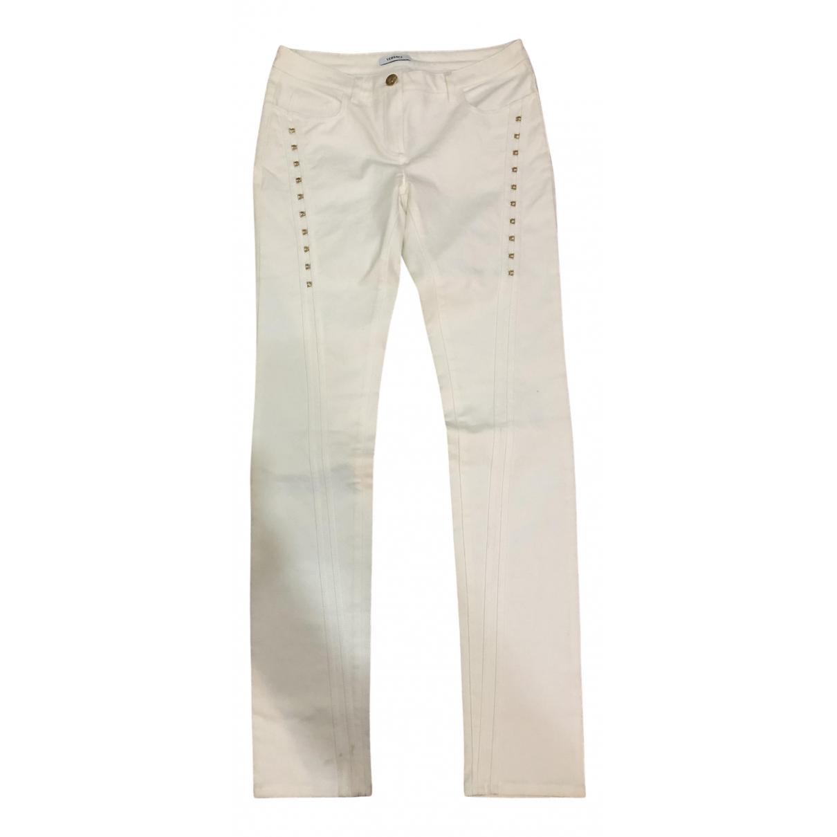 Versace N White Denim - Jeans Jeans for Women 30 US